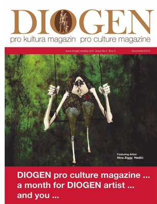 DIOGEN pro art magazine No 3. Decembar / December 2010