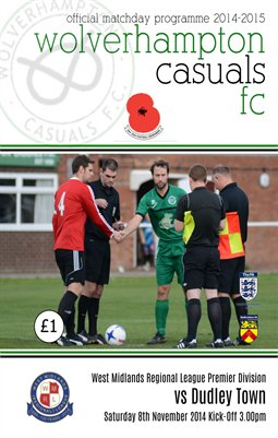 Wolverhampton Casuals v Dudley Town 8/11/14