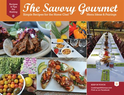 The Savory Gourmet Cookbook