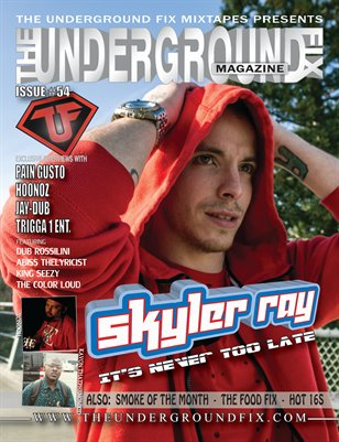 The Underground Fix Magazine Issue #54