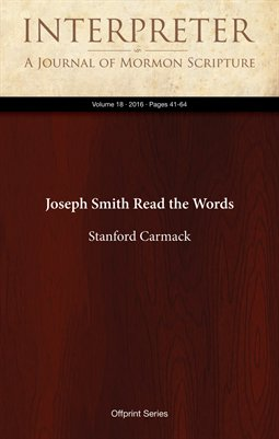 Joseph Smith Read the Words