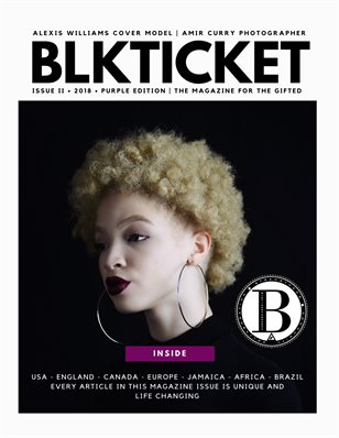BLKTICKET ISSUE II - 2018 - PURPLE EDITION