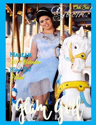 Ooh Soo Glamorous Glam Girlz Princess Maleah 2019 Calendar