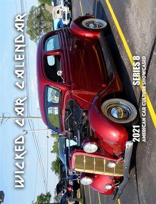 WICKED CAR MAG CALENDAR 2021 SERIES 8 1935 FORD TUDOR