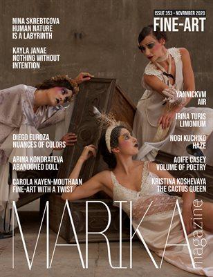MARIKA MAGAZINE FINE-ART (ISSUE 353 - NOVEMBER)