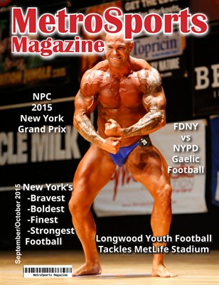 MetroSports Magazine Oct/Nov 2015 NPC Grand Prix