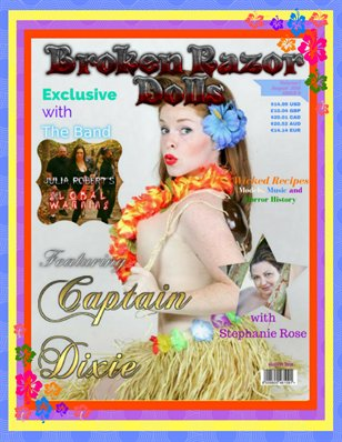 BROKEN RAZOR DOLLS  (THE ALTERNATIVE LIFESTYLE MAGAZINE)- August 2016