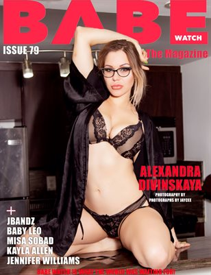 BABE WATCH MAGAZINE ISSUE 79 FT. ALEXANDRA