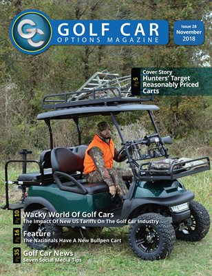 Golf Car Options Magazine - November 2018
