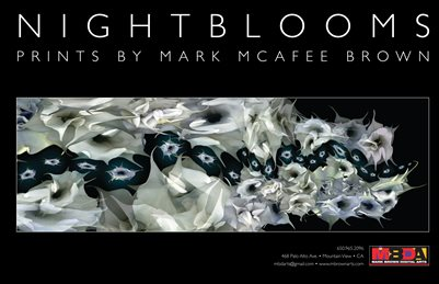 NightBlooms •  Prints by Mark McAfee Brown