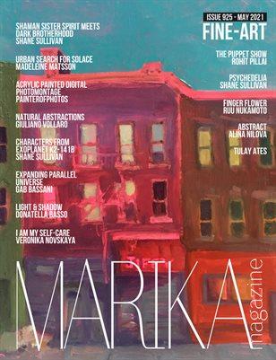 MARIKA MAGAZINE FINE-ART (ISSUE 925 - MAY)