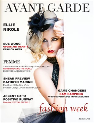 AVANT GARDE Magazine March/April Issue 2015