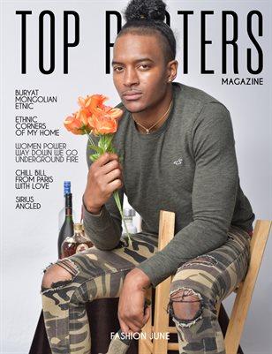 TOP POSTERS MAGAZINE- FASHION JUNE