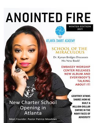 Anointed Fire Magazine (Winter Edition, 2019)