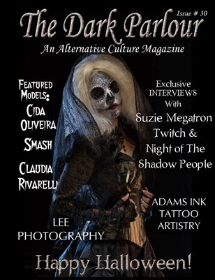 Dark Parlour Magazine - Issue #30 - Halloween Hell!