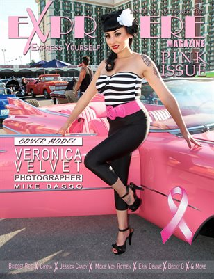 Exprimere Magazine Issue 009 Pink Issue ft Veronica Velvet