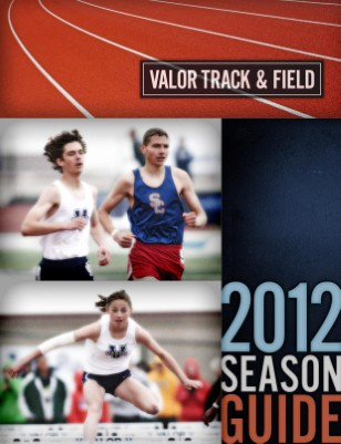 2012 Track and Field Season guide