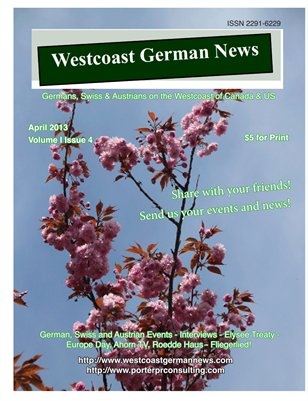 Westcoast German News - April Edition