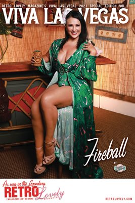 Viva Las Vegas 2021 Special Edition Volume 1 Fireball Cover Poster