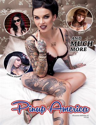 Pinup America Magazine - Relaunch Issue 1
