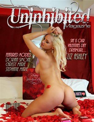 Uninhibited Magazine Valentines issue 2021 featuring Liz Ashley