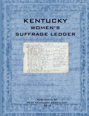 Kentucky Women's Suffrage Ledger