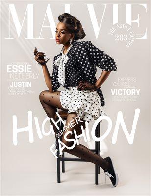 MALVIE Magazine The Artist Edition Vol 283 August 2021