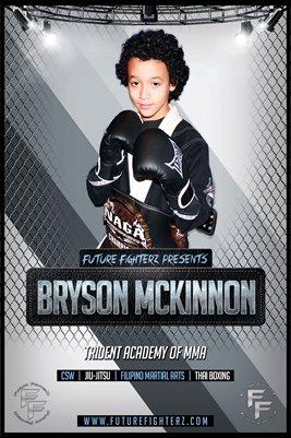 Bryson McKinnon Silver - Poster