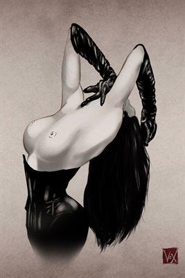 12x18 mini poster - Elegant Disintigration 1