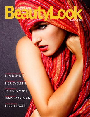 New BeautyLook Magazine - Winter 2013 (Ty Franzoni Cover)