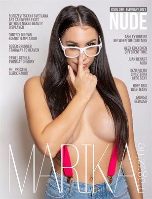 MARIKA MAGAZINE NUDE (ISSUE 598 - February)