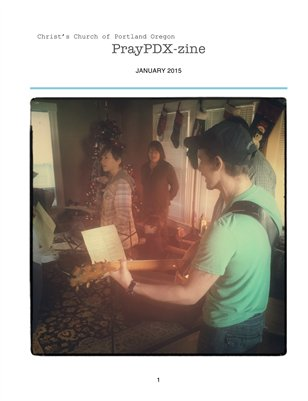 Pray PDX zine- January