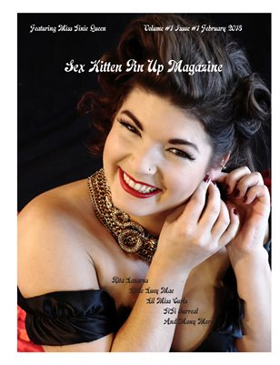 Sex Kitten Pin Up Magazine February 2018 Issue