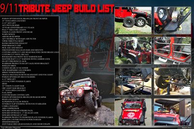 9/11 Tribute Jeep Top-offroaders Magazine P.5-6
