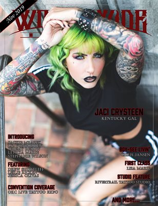 Worldwide Ink: November 2019 Issue (Cover B)