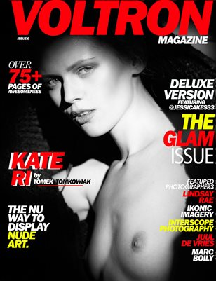 Voltron Magazine - Kate Ri Glam Cover by Tomek