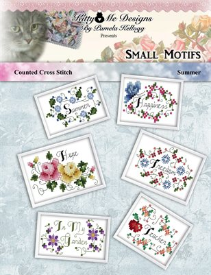 Small Cross Stitch Motifs Summer