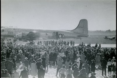 1945 Truman Arrives in Paducah, Kentucky