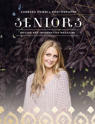 Vanessa Powell Photography | Senior Info Magazine 2016-17