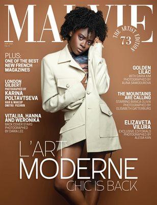 MALVIE Mag The Artist Edition Vol 73 November 2020