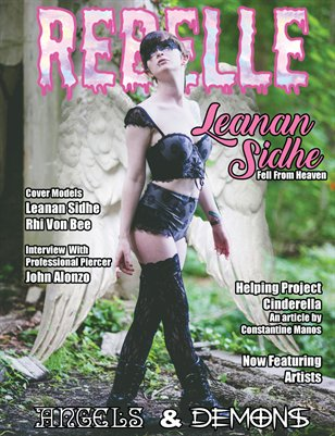 Rebelle Magazine Angels & Demons Issue (Leanan Sidhe Cover)