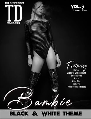 TDM: Barbie Black&White theme Vol.3 Cover1