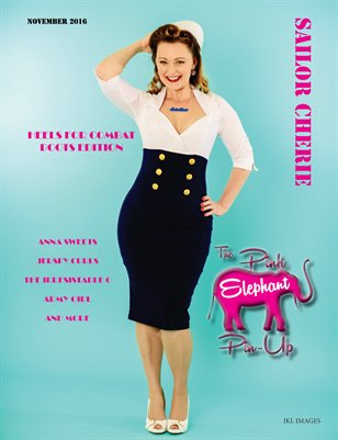 The Pink Elephant Pinup  November 2016 Issue