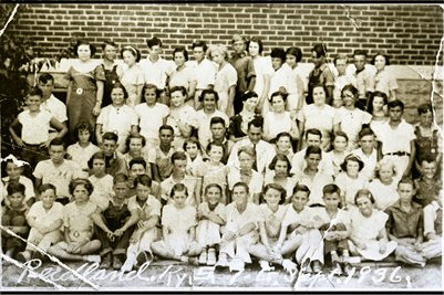 1936 7th Grade, Reidland School, Reidland, Kentucky