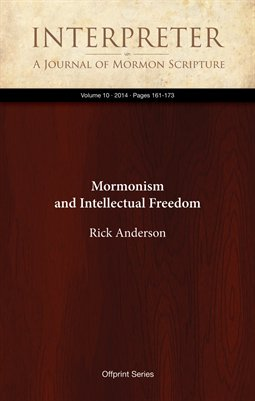 Mormonism and Intellectual Freedom