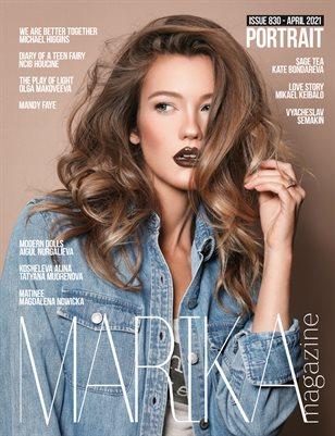MARIKA MAGAZINE PORTRAIT (ISSUE 830 - APRIL)