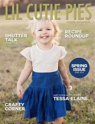 Lil' Cutie Pies Model Magazine Spring 2015 Issue