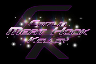 "Caitlin ""Meat Hook"" Kelley Logo Poster"