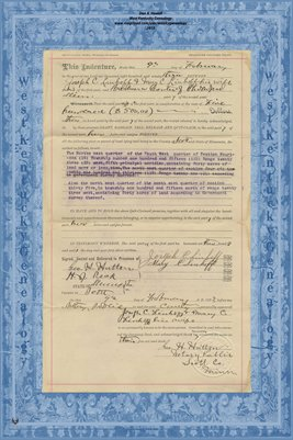 No. 6233 1893 Quit-Claim Deed Joseph C. Linhoff and wife to Barbara Conter, Scott County, Minnesota