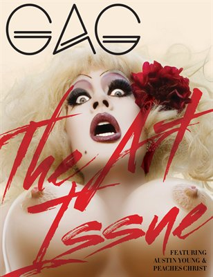 GAG Magazine - The Art Issue Issue #4